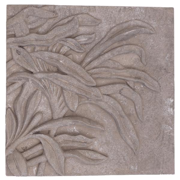 Betonbild Algen Garten Wandbild Wanddeko Handarbeit B-Ware Deko Wohnliebhaber