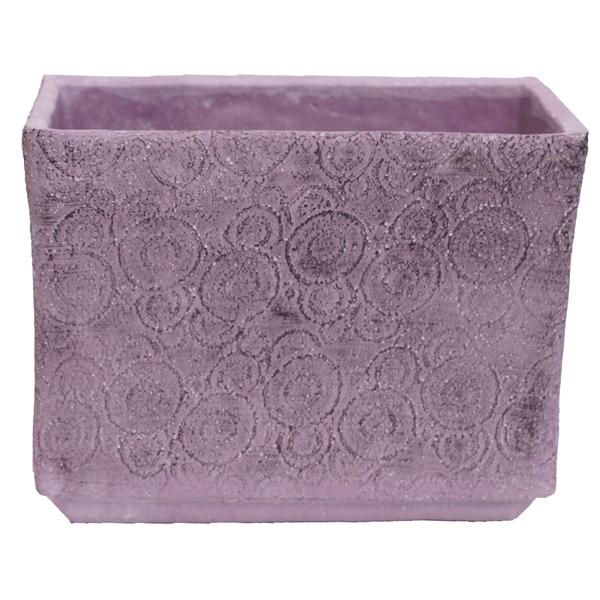 Flieder Blumenkasten von PTMD aus Keramik Handarbeit Wohnliebhaber