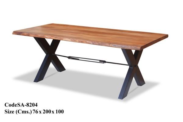 Küchentisch Esstisch Esszimmertisch Industrial Design Tisch Metall Holz Rustikal