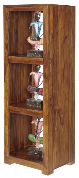 Regal Bücherregal Massivholz Vintage Natur Büromöbel Design Modern