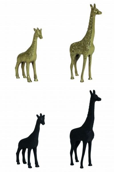 Skulptur Giraffe Deko Figur Wild Natur Afrika Tiere