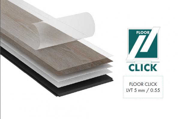 Vinylboden GAJA LVT Click Floor Dielen Fußbodendielen Klick Boden Vinyl