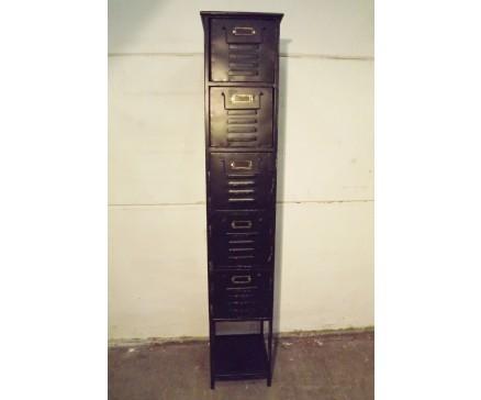 Aktenschrank Metall Kommode Regal Retro Industrial Loft Vintage Look