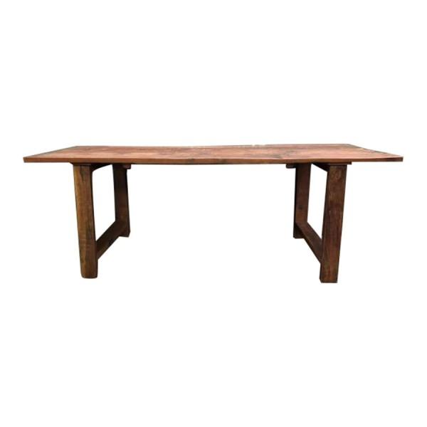 Esszimmertisch Esstisch Schreibtisch Industrial Design Vintage Robust Holz Braun
