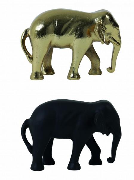 Skulptur Elefant Deko Figur Wild Natur Afrika Tiere