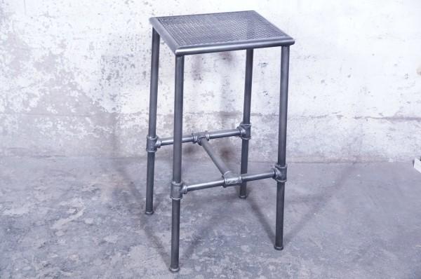 Beistelltisch Telefontisch Dekotisch Rohre Industrial Loft Design