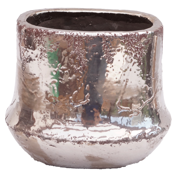 Blumentopf Blumenvase Pflanzkübel Pflanztop Topf Vase Übertopd Modern Glamour Arosa Handarbeit