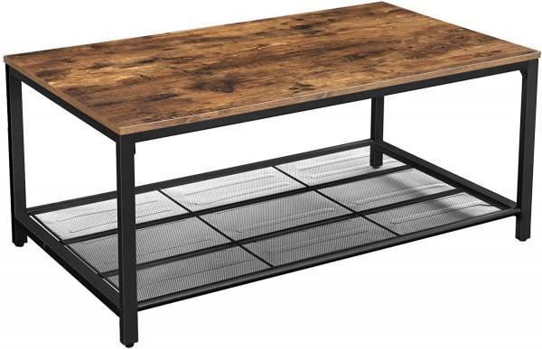 Couchtisch Coffeetable Holz Industrial Metall Loft Rustikal Modern Vintage Industrie Design