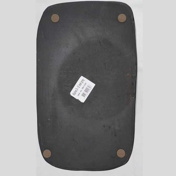 Elegante Schwarze Hochglanz Keramik Bodenvase Dunkelgrau Pflanzkübel Modern rechteckig Handarbeit
