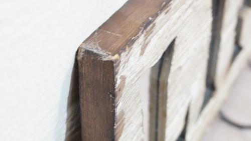 Wandgarderobe Holz Weiß.Details Zu Wandgarderobe Life Holz Weiß Schwarz Haken Vintage