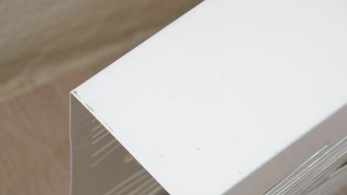 Zeitungsständer Modern weißer metall zeitungsständer modern holzoptik abstrakte form